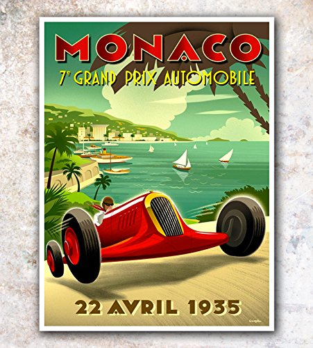 vintage auto racing posters - 4