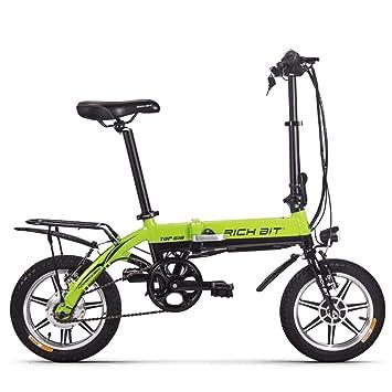 Eléctrico bicicleta Richbit plegable bicicleta de ciudad con 250 W * 36 V * 10.2Ah