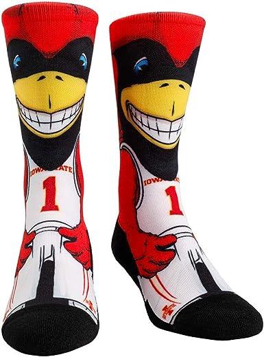 L//XL, Miami Hurricanes - Argyle NCAA Super Premium College Fan Socks