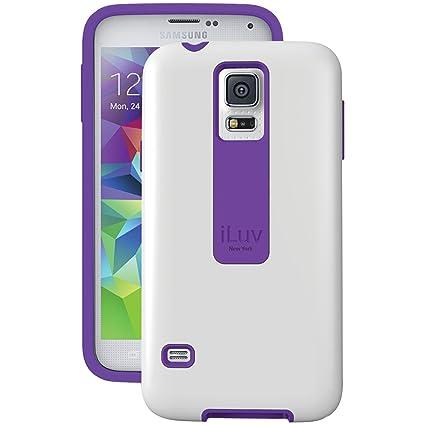 Amazon.com: iLuv Vuelo Fit Dual Layer – Carcasa para Samsung ...