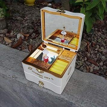 Caja de Música Regalos para Niñas Caja de Música para Niñas Musical Infantil con Bailarina, Pulseras, Pendientes: Amazon.es: Bricolaje y herramientas