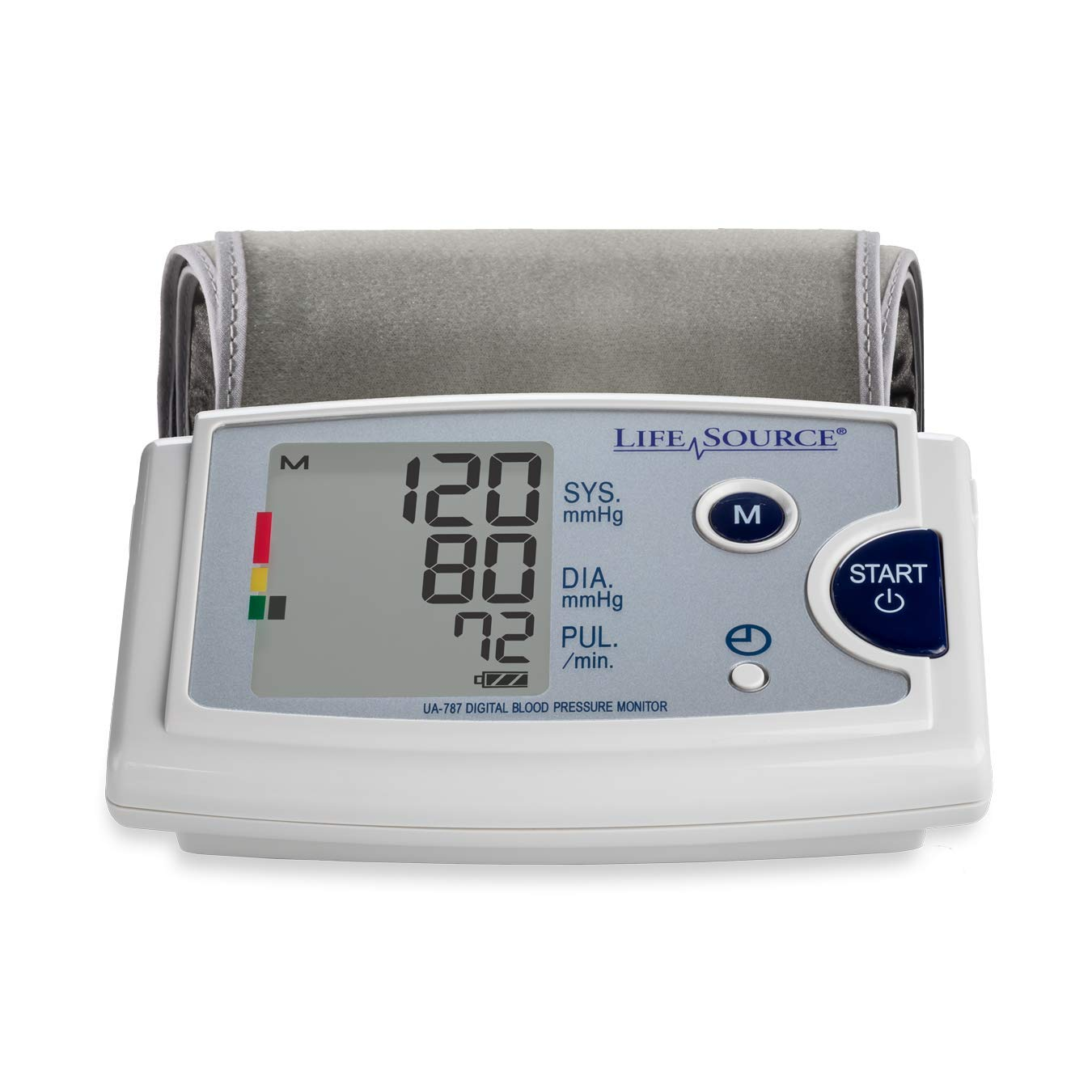 LifeSource Blood Pressure Monitor with Pre-Formed Upper Arm Cuff (UA-787EJ)