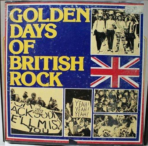 Price comparison product image 1976 Golden Days Of British Rock Vinyl Record Set Of 4