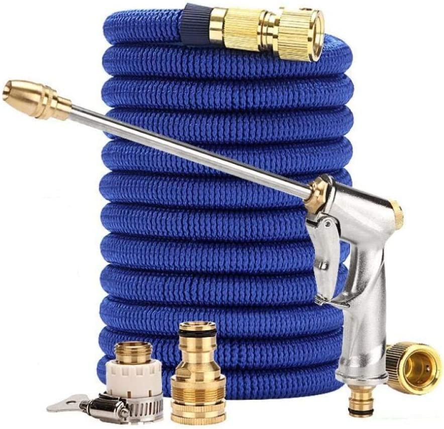 1/2'' Garden Hose Expandable Magic Hose Watering Water Pipe High Pressure Soaker Hose for Garden Spray Gun Car Wash House Cleaning-1/2''_50ft_R17 R09