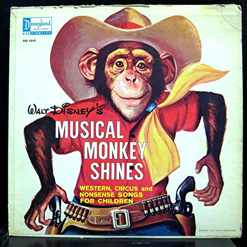 Various Musical Monkey Shines vinyl record