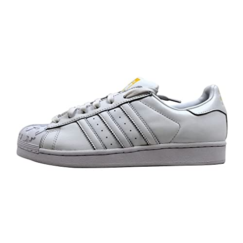 reputable site 48df0 9ce2e Adidas Originals Mens Superstar Pharrell Mr Mr s Supershell Sneakers White   Amazon.ca  Shoes   Handbags