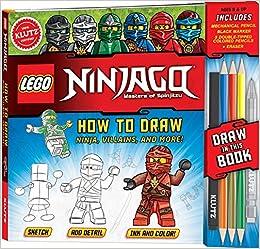 How To Draw Lego Ninjago (Klutz): Amazon.es: Pat Murpfy ...