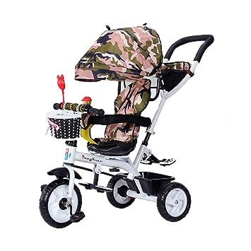 Asiento Giratorio Triciclo para niños 4 en 1 para bebés de 1-3 a 6
