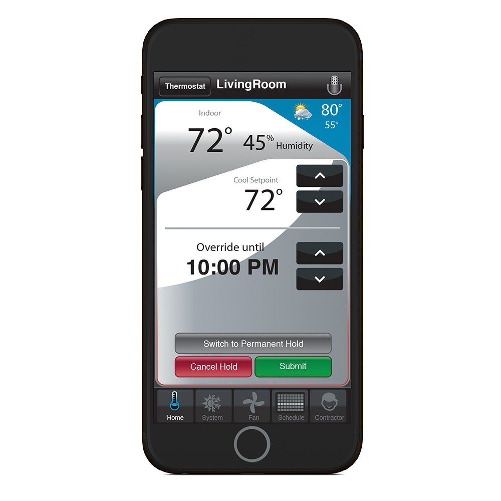 Honeywell Home Wi-Fi 7-Day Programmable Thermostat (RTH6580WF), Requires C Wire, Works with Alexa by Honeywell