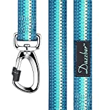 "Dazzber 6ft x 1"" Dog Leash, Geometric Lines Durable Dog Lead Strong, Heavy"
