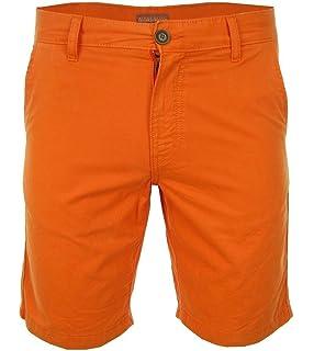 NAPAPIJRI Nayerou Herren Men Shorts Kurz Hose Chino Bermuda Orange Neu New  Logo 69df5381d7
