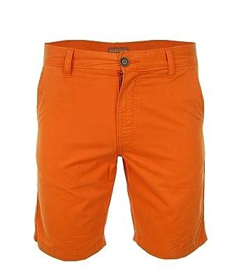 NAPAPIJRI Nayerou Herren Men Shorts Kurz Hose Chino Bermuda Orange Neu New  Logo (30) 549ffa63d2