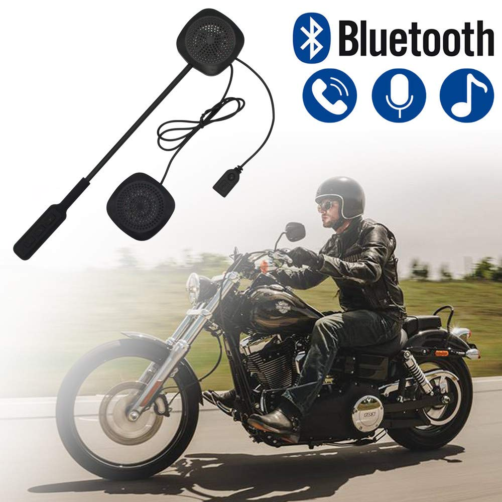 Ushot Mh03 Bluetooth Motorcycle Headset Moto Mirror Switch Wiring Diagram Helmet Motorbike Handsfree Headphone For Music Gps Garden Outdoor
