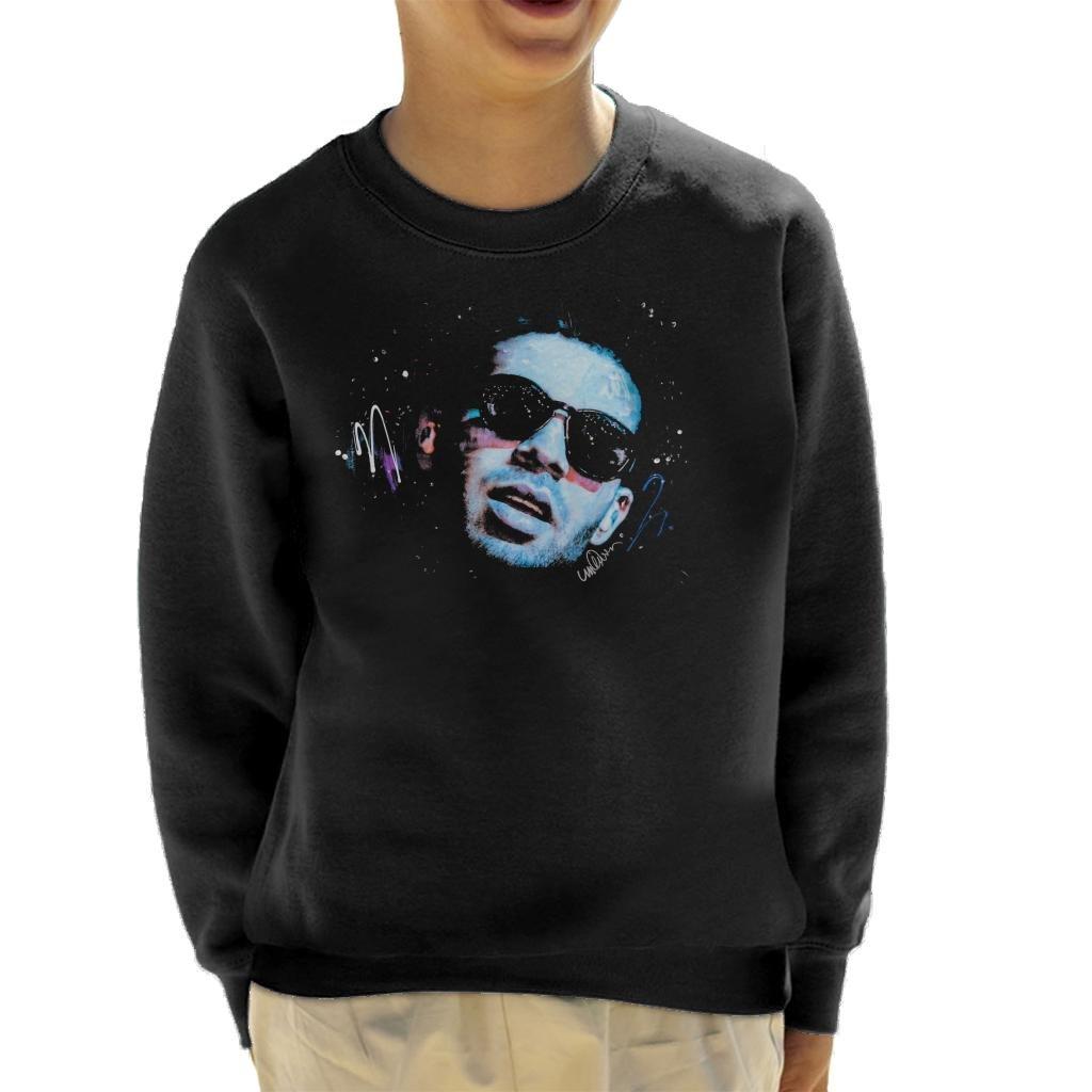 Sidney Maurer Original Portrait of Drake Sunglasses Kid's Sweatshirt