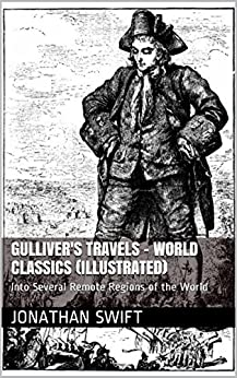 What technique does Swift use in Gulliver's Travels to produce satire?