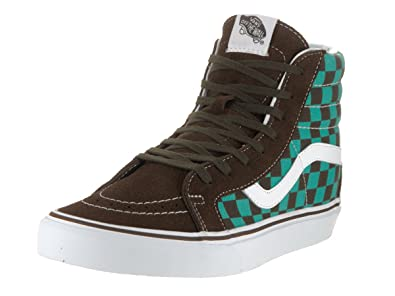 Image Unavailable. Image not available for. Color  Vans Men s Sk8-Hi Reissue  (50th) Checkerbrd Ceramic Skate Shoe ... 209b5e7b1b