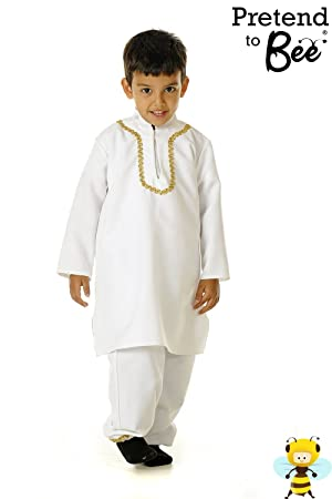 Punjabi Indian Boy - Kids Costume 3 - 5 years  sc 1 st  Amazon UK & Punjabi Indian Boy - Kids Costume 3 - 5 years: Pretend to Bee ...