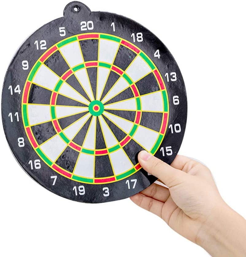 Toyvian Magnetic Dartboard Set 3 Sets Mixed Colors Office Home Outdoor Board Games Leisure Game Dartboard with Darts