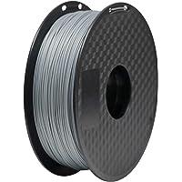 GEEETECH Filament PLA 1.75mm Imprimante 3D Filament PLA pour Imprimante 3D, 1kg Spool, Argent