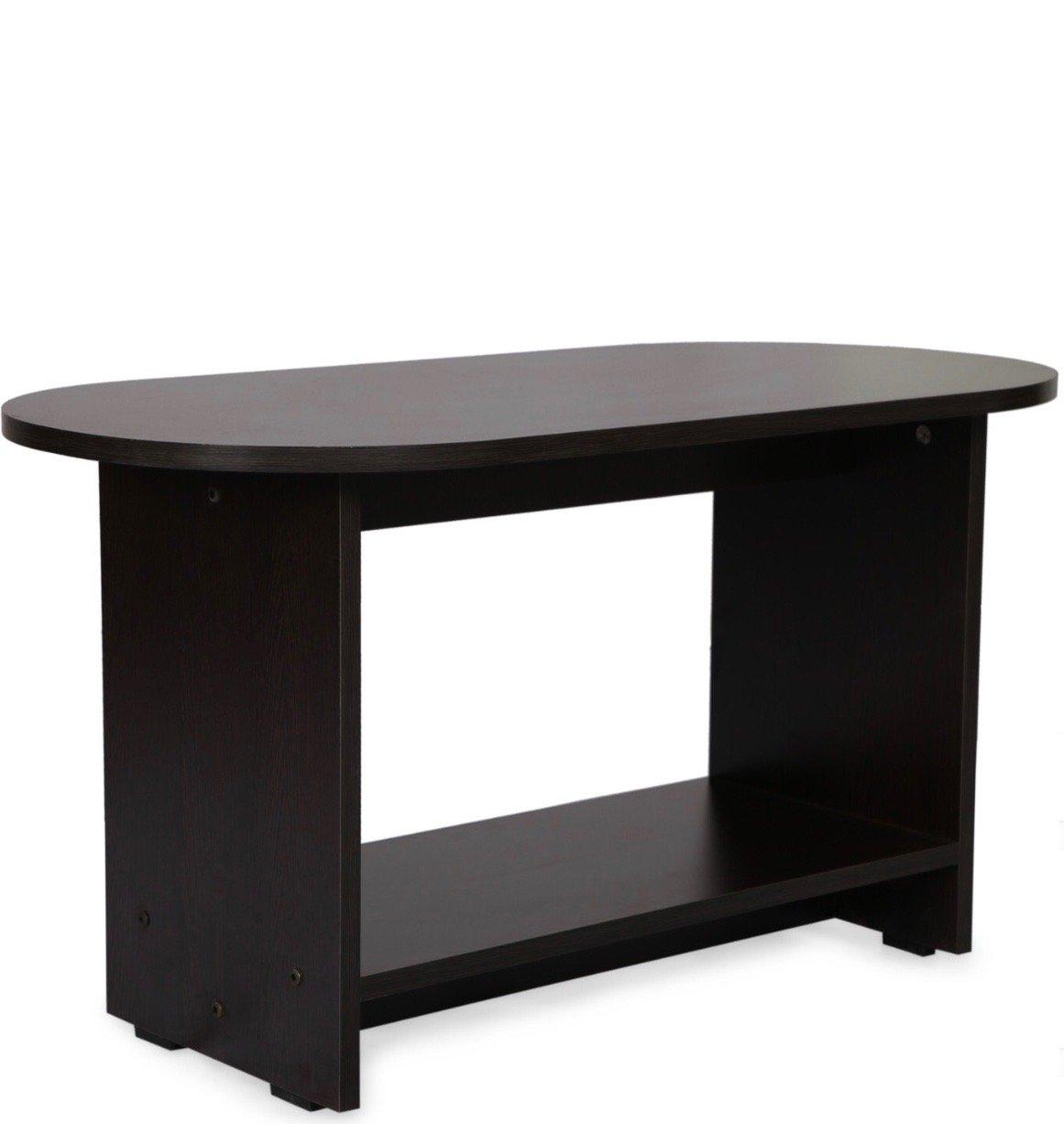 Valtos Monaco Engineerd Wood Coffee Table (Matte Finish, Wenge)