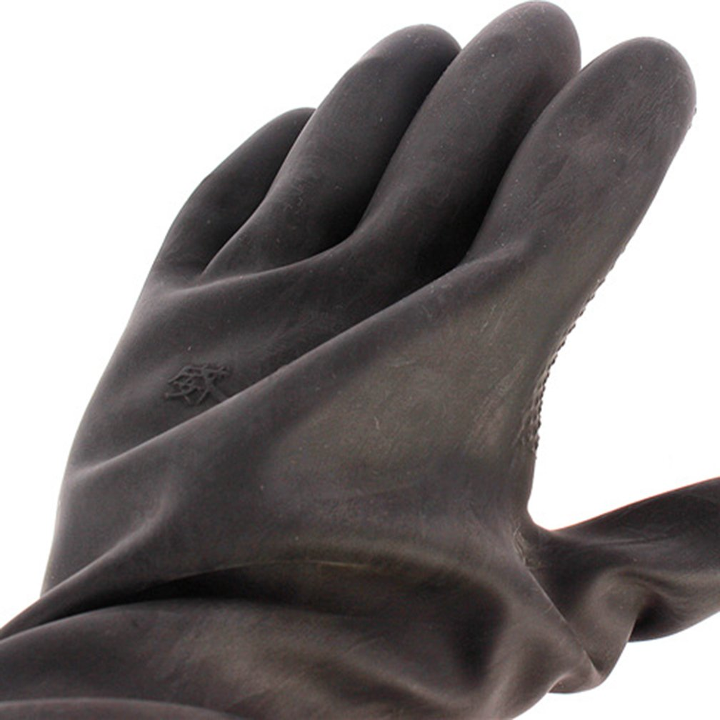 60CM Latex Industrial Gloves Lengthened Acid Wear Thick Long Rubber Gloves by Fastrider (Image #5)