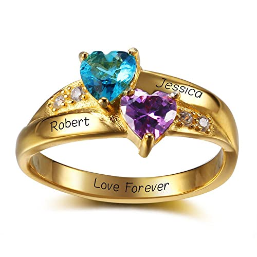 67b66f7678d36 Rings with names for couples