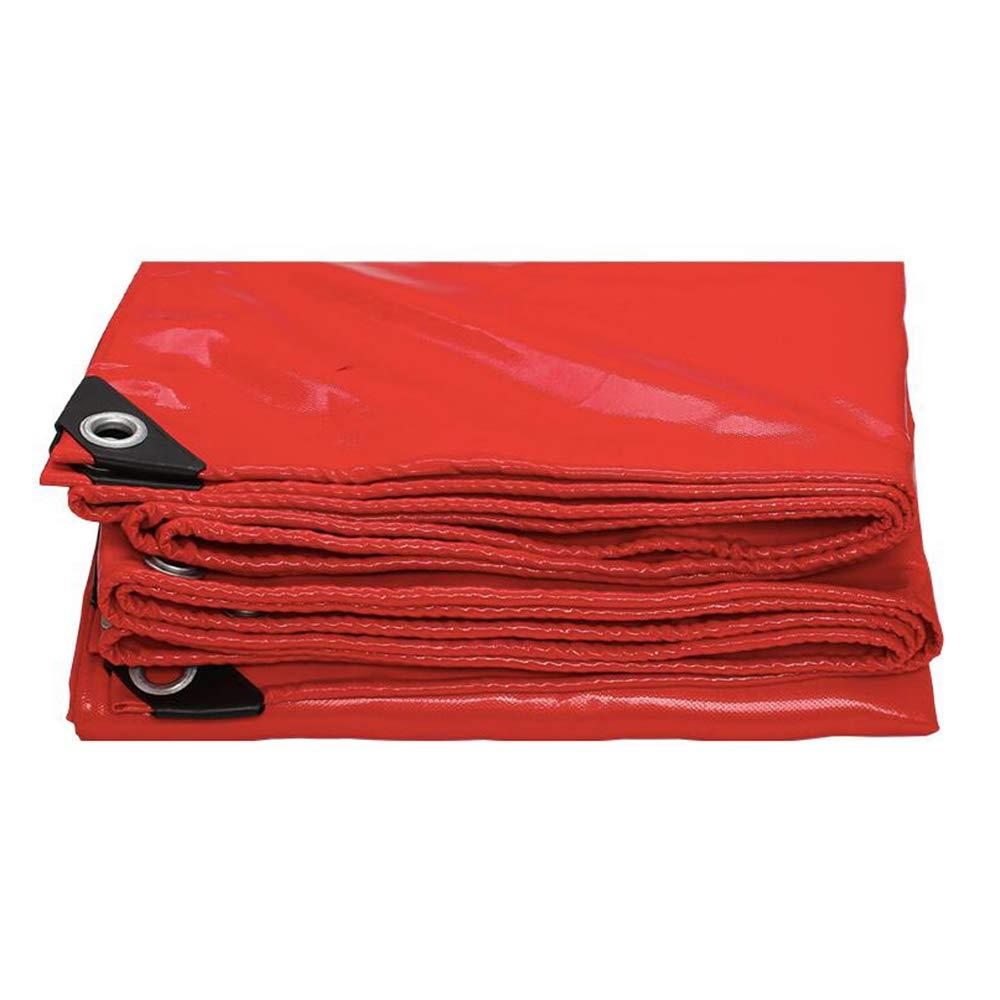 Plane YNN Wasserdichte Poly Abdeckung für vielseitige Verwendung, Reversible Reversible Reversible PVC 420g   m² (Farbe   rot, größe   2  2m) B07KMNHV4V Zeltplanen Verschleißfest a5ad51