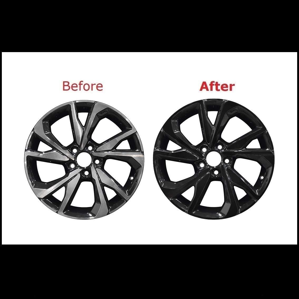 Amazon Com Chrome Delete Blackout Overlay For 2016 20 Honda Civic Sport Wheels Rims Trim Matte Black Automotive