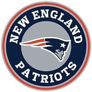New England Patriots Logo NFL Sport Decal 12'' X 12''