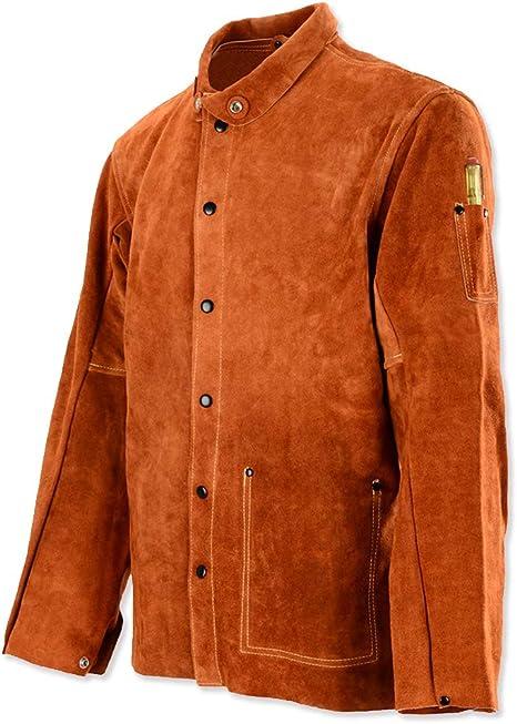 QeeLink Leather Welding Jacket
