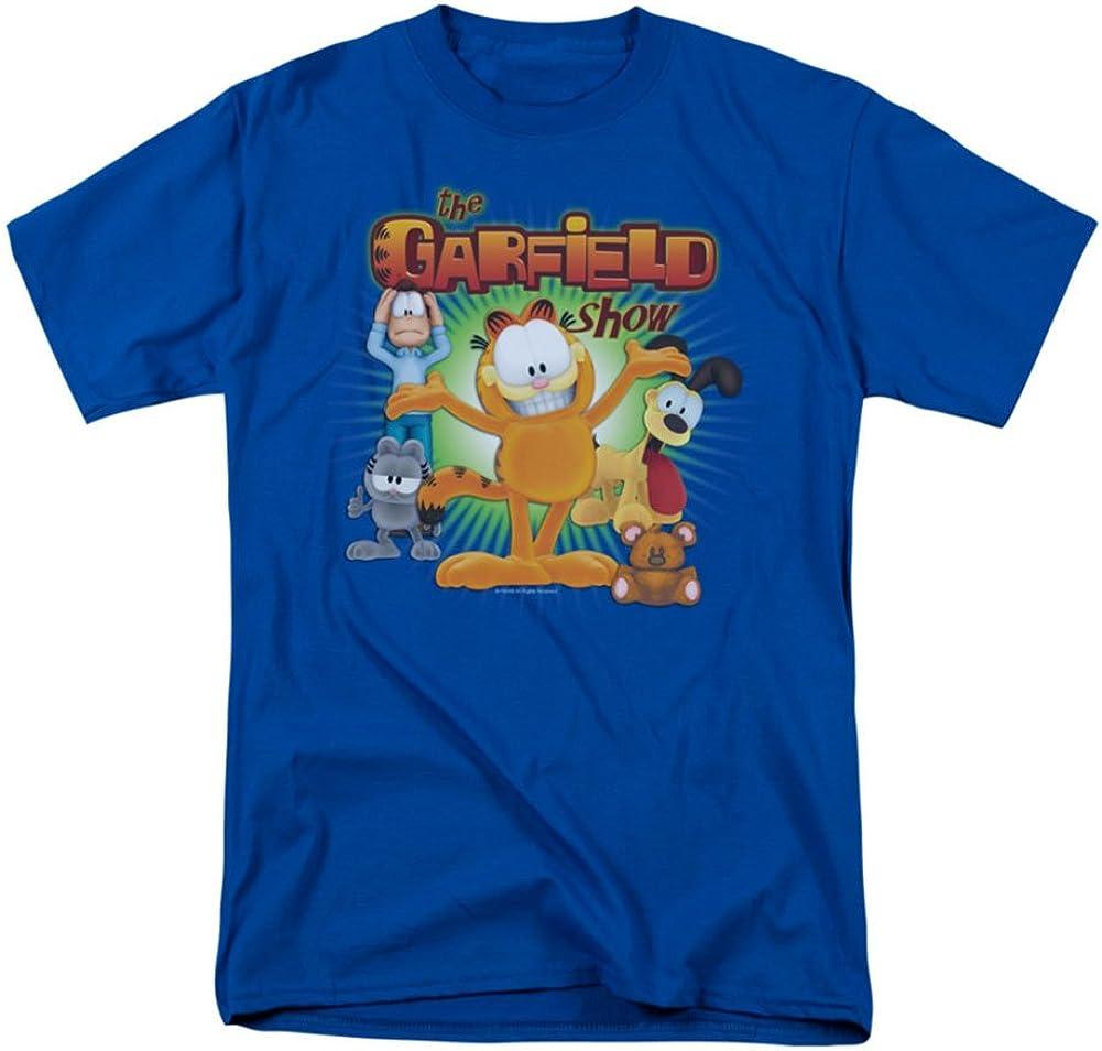 Garfield Comic The Show Adult T-Shirt Tee