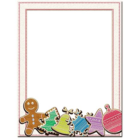 Amazon.com: Sugar Cookies Letterhead Papel Impresora de ...