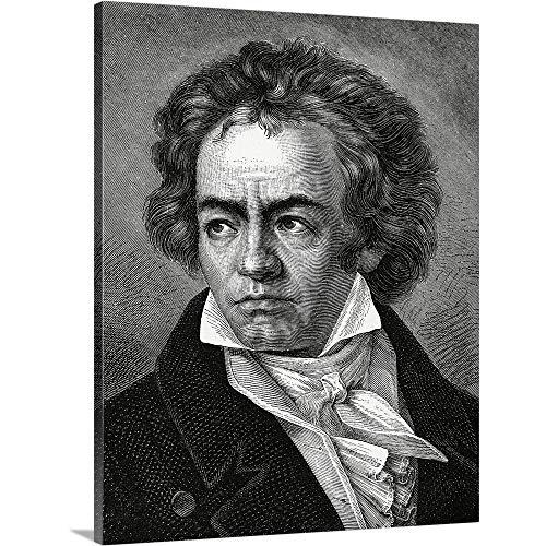 - Portrait of Ludwig Van Beethoven Canvas Wall Art Print, 11