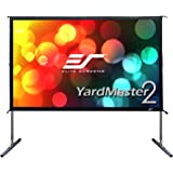 Elite Screens Yard Master 2, 120-INCH 16:9, 4K/8K Ultra HD, Active 3D, HDR Ready Portable Foldaway Movie Home Theater Projector Screen, FRONT Projection - OMS120H2