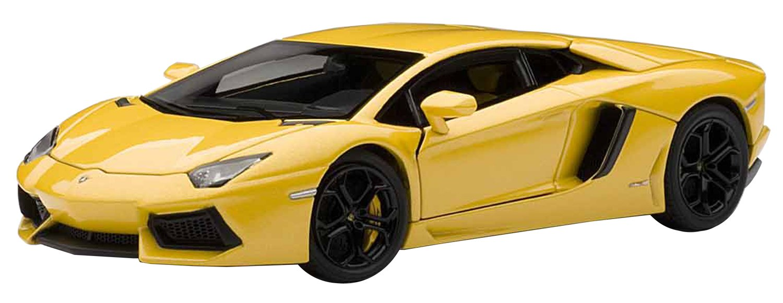 AUTOart 1/43 Lamborghini Aventador LP700-4 (Gelb) (japan import)