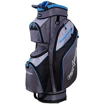 MacGregor MT - Bolsa para Carrito de Golf para Hombre, Color Gris, Plateado y