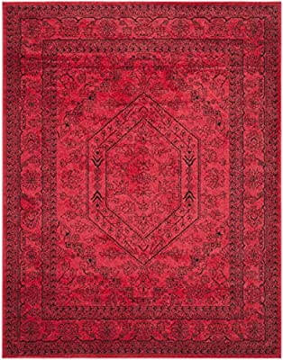 Safavieh Adirondack Collection ADR108H Gold and Black Oriental Vintage Medallion Square Area Rug Variation Family: 25 -P