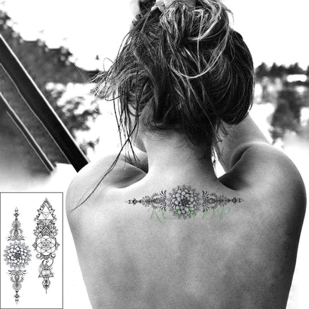 Handaxian 3pcs de la Etiqueta engomada Impermeable del Tatuaje de ...