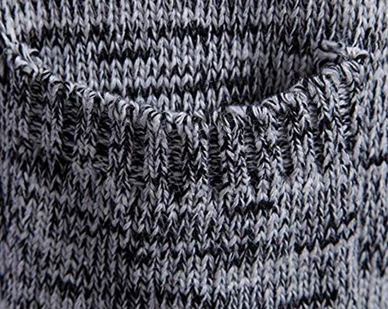 Męska kurtka z dzianiny open kurtka długa Cardigan płaszcz dzianina odzież Knit kurtka Hoodie Hoody bluza sweter bloczek: Odzież
