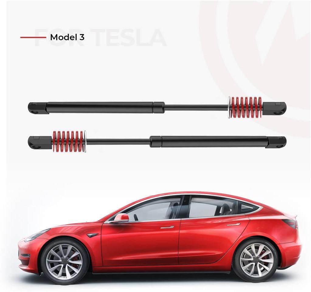 Set of 2 For Tesla Model 3 Automatic Front Hood Trunk Lift Supports Frunk Struts Gas Spring Shocks ARANA