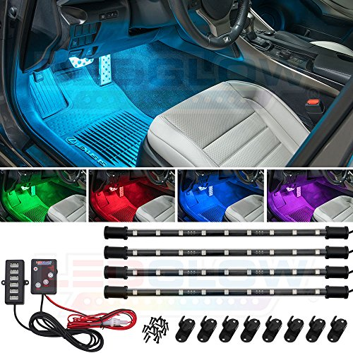 7 Color Led Interior Light Kit