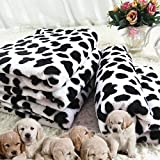 Pet dog thickening blanket coral fleece blanket warm dog blankets Dog Kennel mat cat supplies , l- (100*80) cm