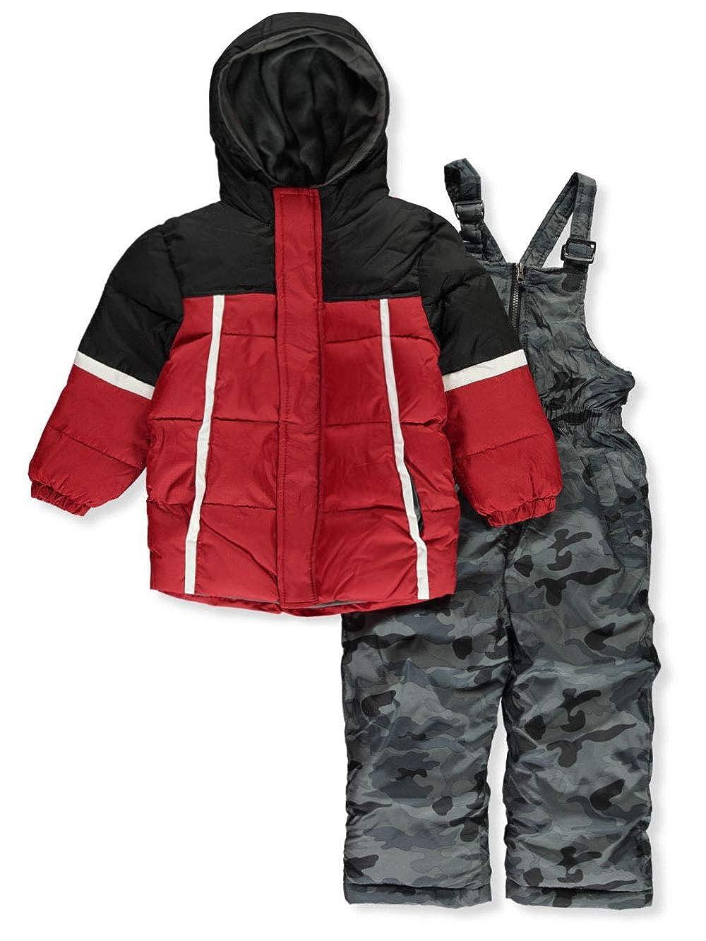 iXTREME Boys Camo Bottom 2-Piece Snowsuit Set
