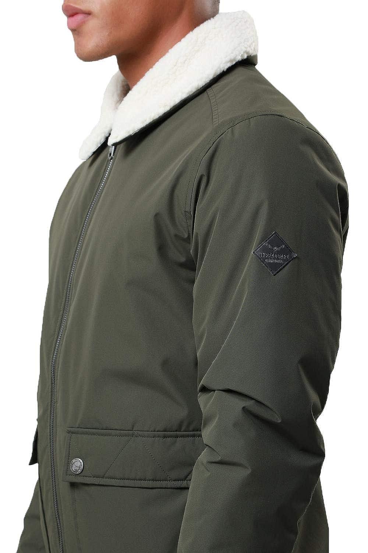 ba8b173c882e3 Threadbare - Blouson - Blouson - Col Chemise Classique - Homme - - Medium   Amazon.fr  Vêtements et accessoires