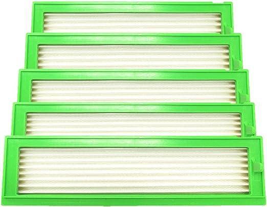 5 pieza filtro HEPA Allergie Filtros de repuesto para aspiradoras ...