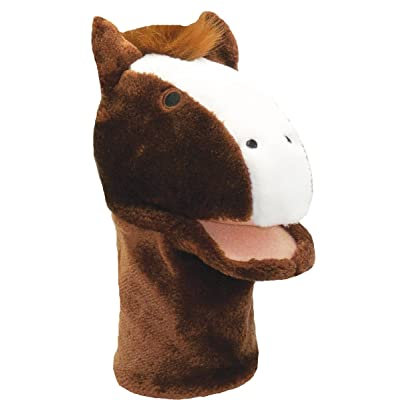 Get Ready Kids Horse Plush Hand Puppet: Toys & Games