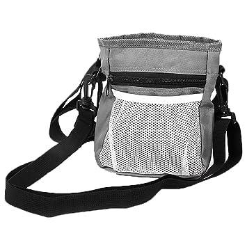 Bolsa de Entrenamiento para Perros, Tratar Bolsa Cinturón Ajustable con Dispensador de Bolsas Integrado de