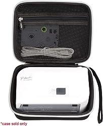 Aproca Hard Travel Storage Case Bag Fit Brother P-Touch Label Maker PT70BM Personal Handheld Labeler Black