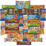 Healthy Bars & Snacks Variety Pack Assortment Bulk Value by Variety Fun (Care Package 30 Count)