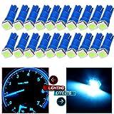 95 camaro dashboard - CCIYU 20 Pack Ice Blue T5 58 70 73 74 5050SMD LED Wedge Lamp Bulb Light Dashboard Gauge For Honda Dodge Dodge Acura Subaru Pontiac Jeep